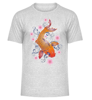 KOI Fish - Nishikigoi Sakura Blossoms 1
