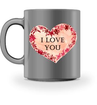 Herz Love Valentinstag Geschenk idee