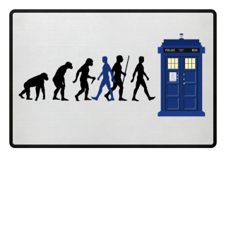 Evolution Of Humans - Police Box IVa