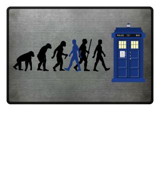 Evolution Of Humans - Police Box IVa