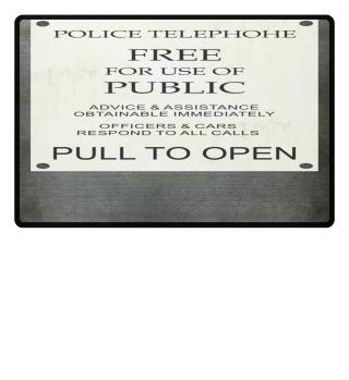 ★ Police Telephone Box Explanations I