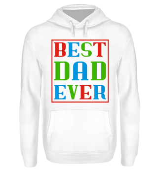♥ BEST DAD EVER frame