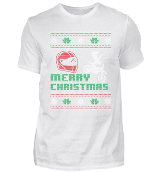 Funny Motorcycle Shirt Merry Christmas