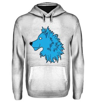 wolf head shirt