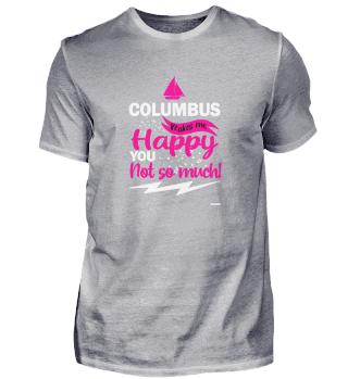 Columbus Day America Discovery Adventure