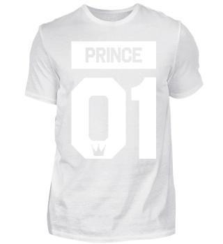 PRINCE 01 - Partnershirt Partnerlook