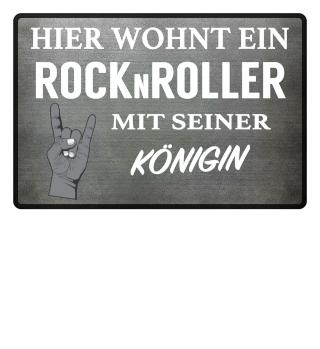 ROCKNROLLER KÖNIGIN - FUSSMATTE