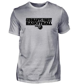 PG   Men's Shirt   Germany's Finest Basketball BLACK