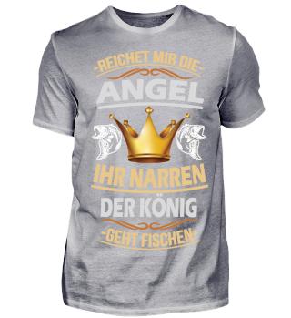 Der König geht Fischen