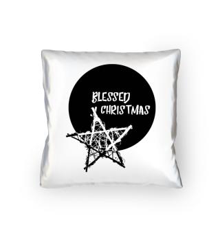 Blessed Christmas - Bamboo Star black