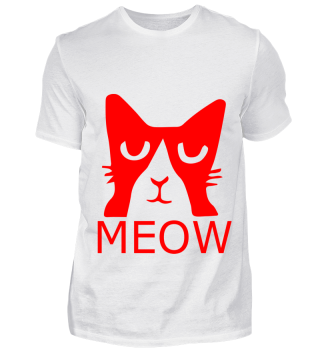 GIFT- MEOW RED