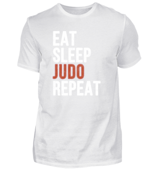 Eat Sleep Judo Repeat Funny Gift
