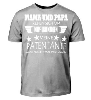 MAMA & PAPA - Kopf und Kragen Patentante