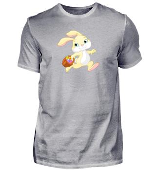 Osterhase Ostern Hase mit Ostereiern