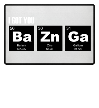 Chemical Elements - got BaZnGa - white 2