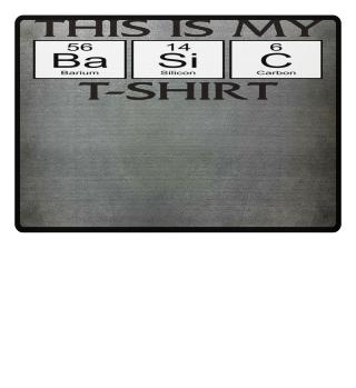 ★ Periodic Elements - BASIC T-Shirt I