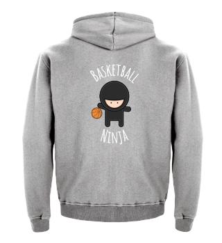 Basketball Ninja - Funny T-Shirt & Gift