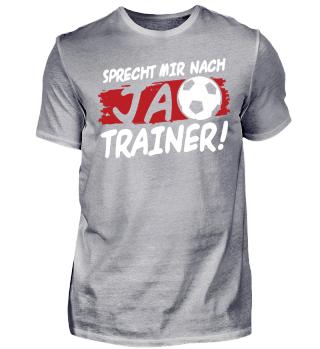 Fußball Trainer Shirt