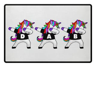 Dabbing Unicorns - Dancing Figure DAB 1a