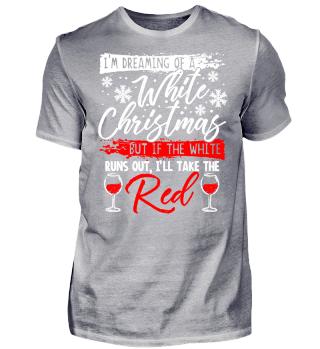 Weihnachten Geschenk Rotwein Wein