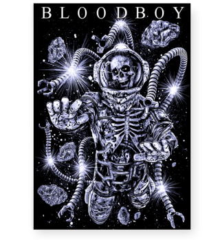 BLOODBOY ASTRONAUT POSTER