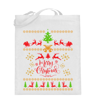UGLY CHRISTMAS DESIGN - STRICKMUSTER #7.17