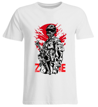 ☛ ZOMBIE SOLDIER #6