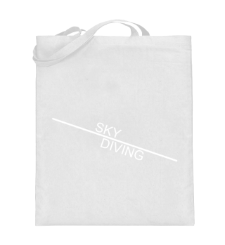 Sky Diving line - white