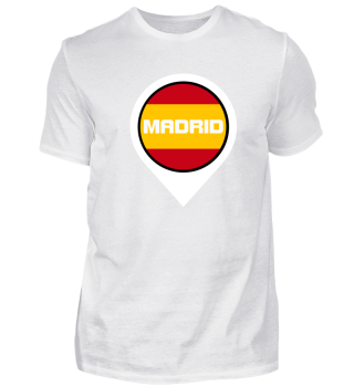 Madrid City Pin Shirt