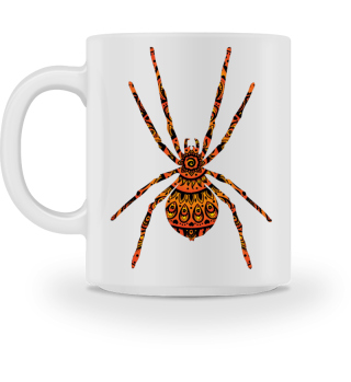 Folklore Mandala - Big Spider MUG