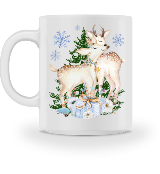 ♥ MERRY CHRISTMAS · DEER #10FT