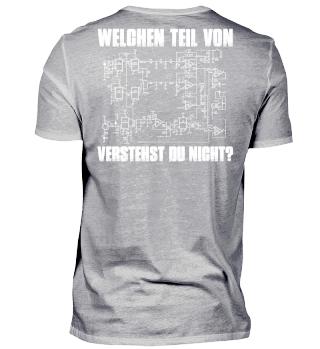 Stylisches Shirt für Elektronik-Nerds