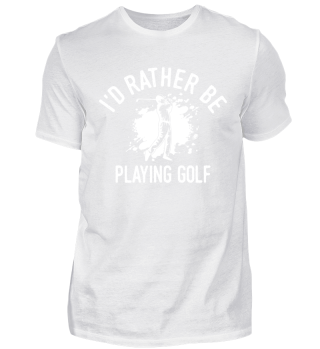 Golfer Golf Player Club Coach Cool Funny Image Comic Quote Gift Shirt