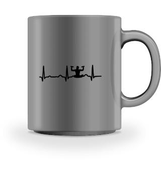 GIFT - ECG HEARTLINE MEDITATION BLACK