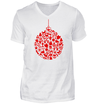 ★ Icons Christmas Tree Ball - red