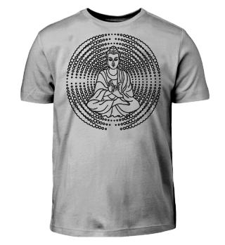 Buddha Mudra Mandala - ausmalen