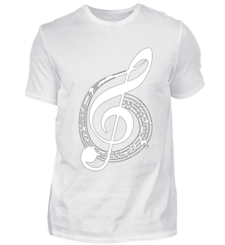 Noten Grades lines Musik Music Shirt