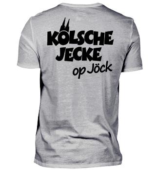 Kölsche Jecke op Jöck (Rückenaufdruck)