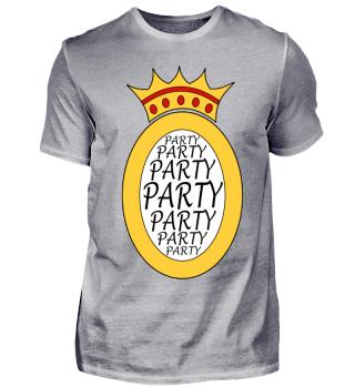 Party, Feier, Krone
