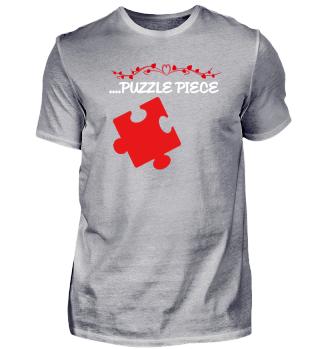 Herz Puzzle | Liebe Paar Geschenk