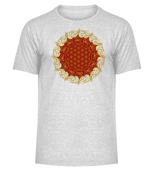 ♥ FLOWER OF LIFE - Vintage Mandala I