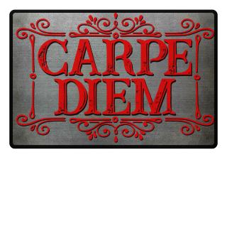 CARPE DIEM - vintage frame Fußmatte 4
