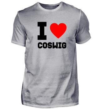 Geschenk Sachsen I Love Coswig