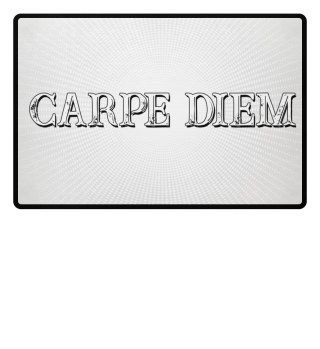 CARPE DIEM - Halftone Star white