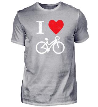 Radsport Geschenk Fahrrad Kinder Herz