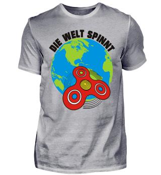 Fidget Spinners Globe - DIE WELT SPINNT