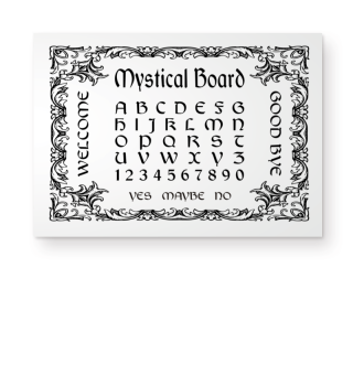 ★ Mystical Board - Hexenbrett I black 1