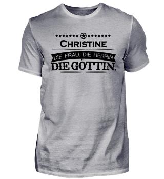 Geburtstag legende göttin Christine
