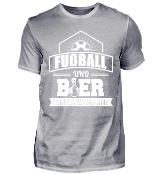 Fußball Fußballer Shirt Und Bier