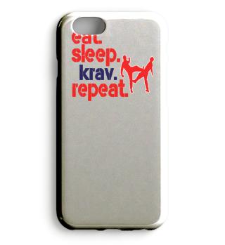 eat sleep krav maga repeat